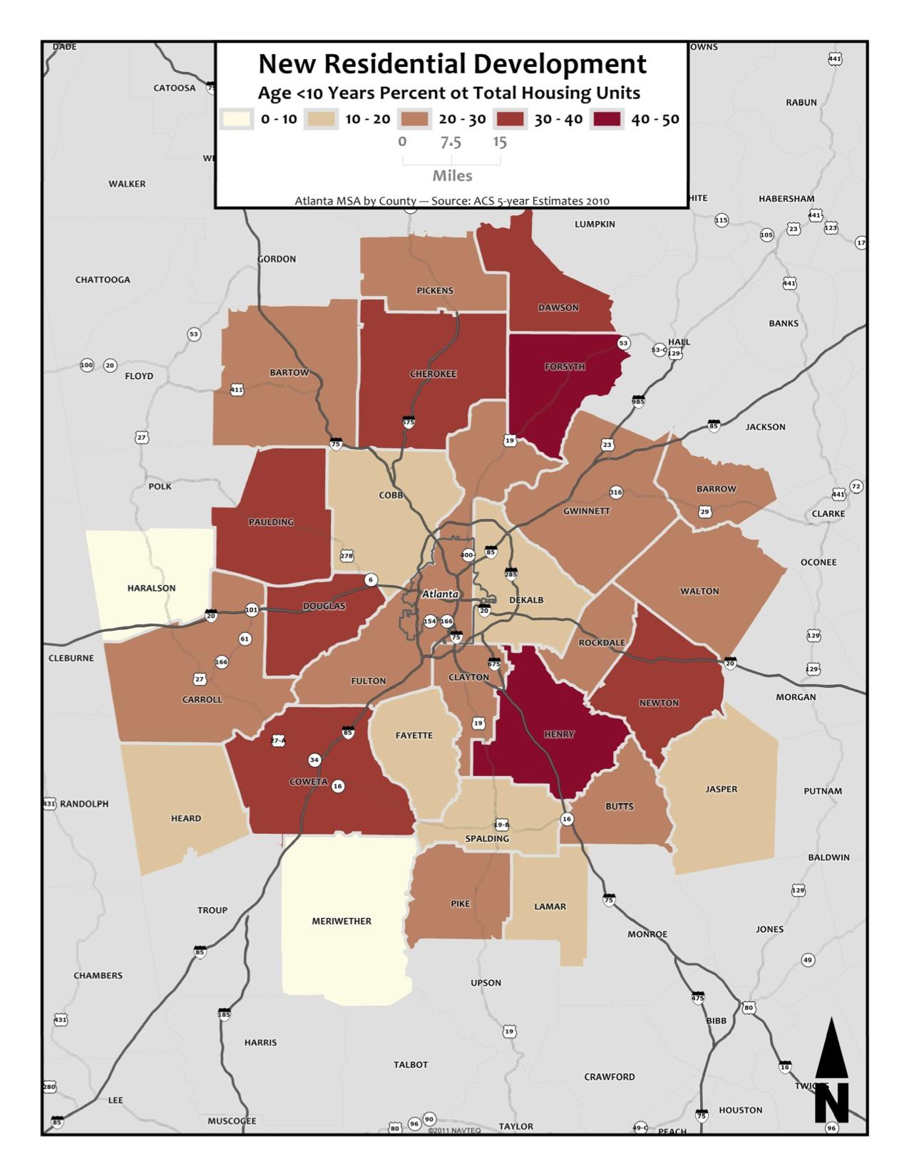 New Construction – metro counties