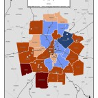 Captive Mobility Food Deserts – metro counties