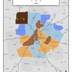 Daily VMT Per Capita – metro counties