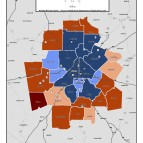 Low Income Food Deserts – metro counties
