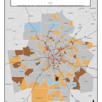 Carpooling – metro tracts