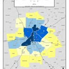 Annual Employer Payroll, 2011 – metro counties