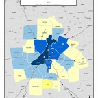 Average Employer Payroll, 2011 – metro counties