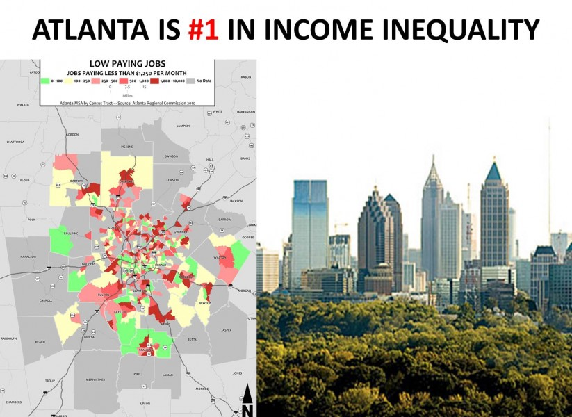 income inequality feature