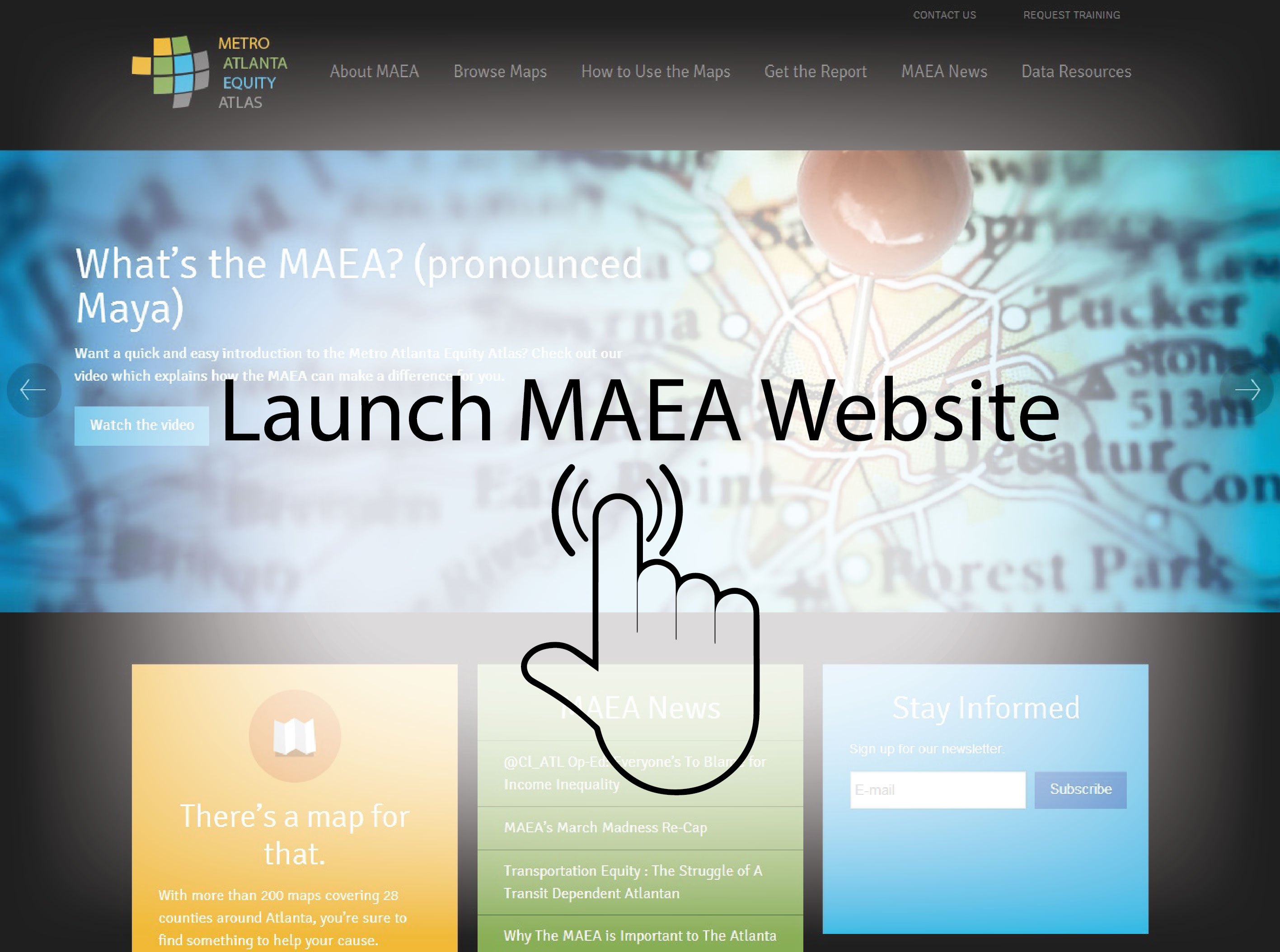 MAEA Featured on Federal Reserve Bank of Atlanta Website as Online Tool to Aid Policymakers